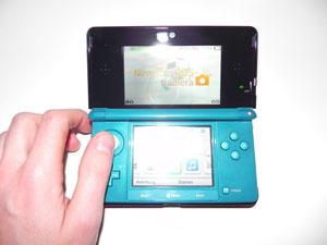 3D-Bildschirm und Analogstick (Foto: powerkonsolen.de)