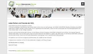 Games Convention Online 2011 abgesagt (Foto: Screenshot www.gamesconvention.com)