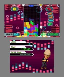 Tetris 3DS - eine der vielen Spielvarianten (Foto: Nintendo of Europe)