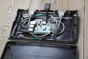 Raspberry Pi Atari 2600 Frontansicht