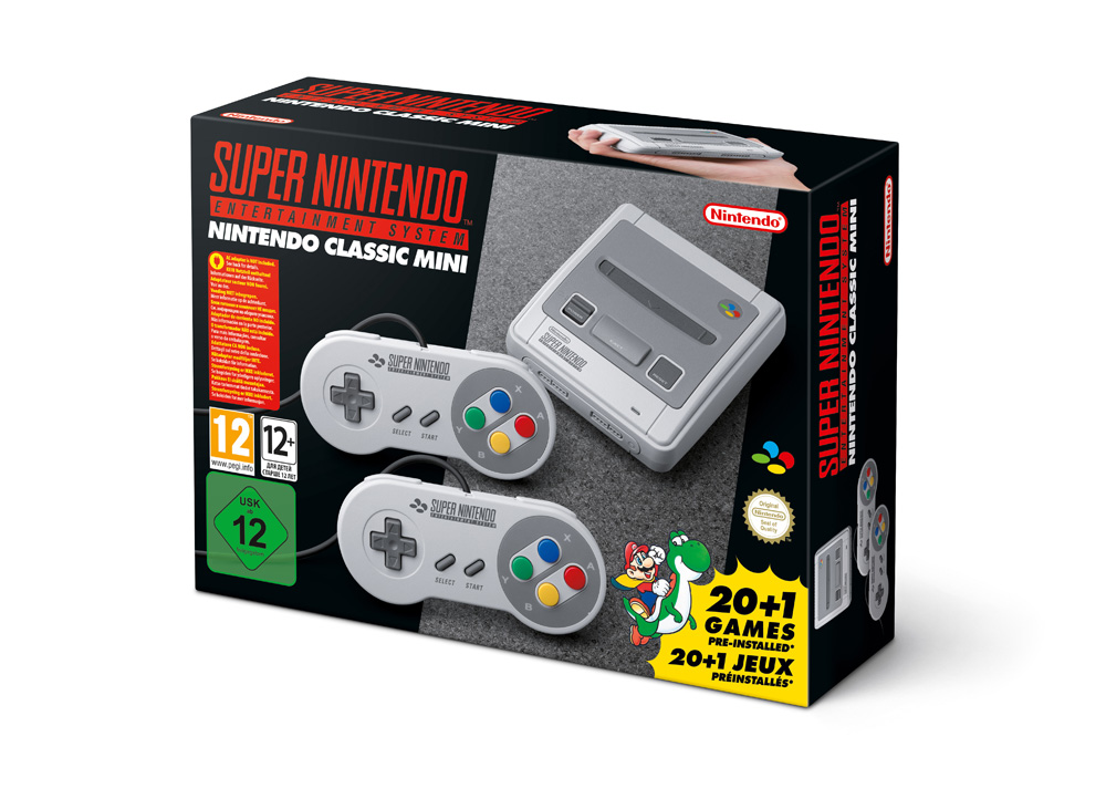 SNES Nintendo Classic Mini (Foto: Nintendo)