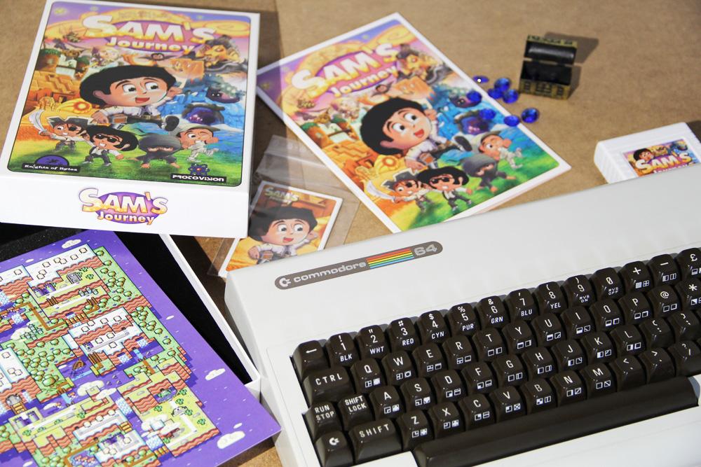 Angespielt: SAM'S JOURNEY für C64 – Testbericht
