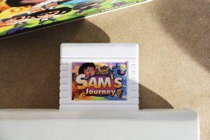 Spielmodul Sam's Journey in den C64 einstecken und losspielen (Foto: Powerkonsolen.de)