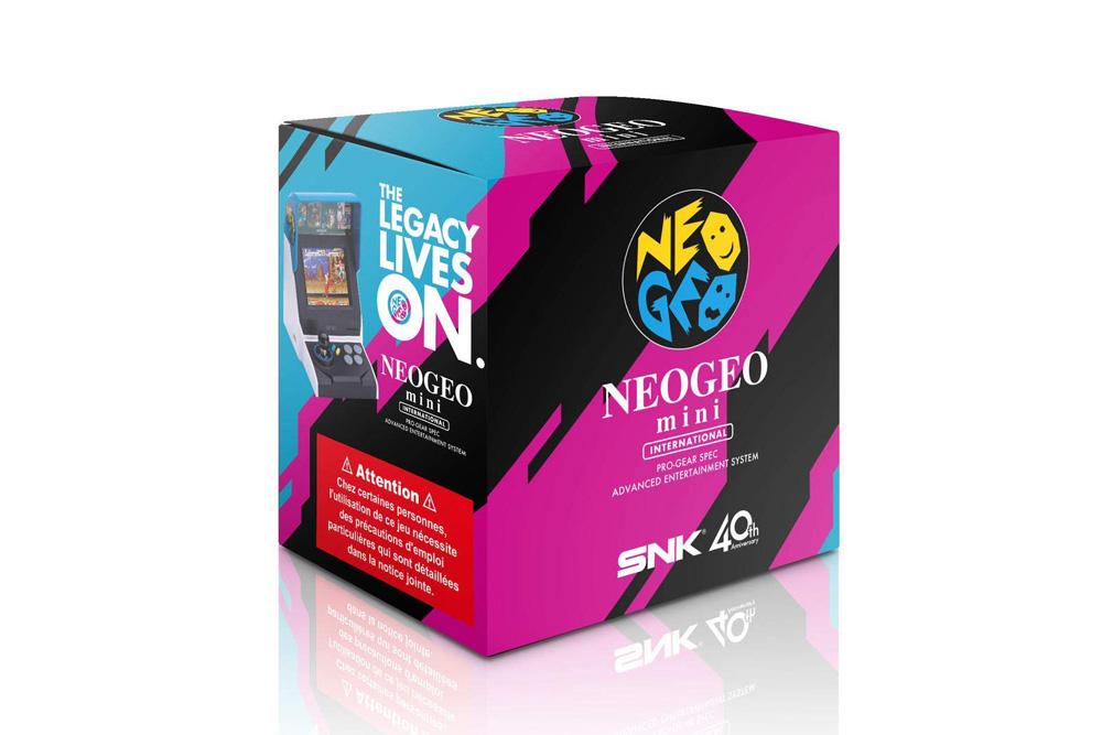 Vergleich: Asiatische und internationale Version – 40 Spiele auf dem Neo Geo Mini