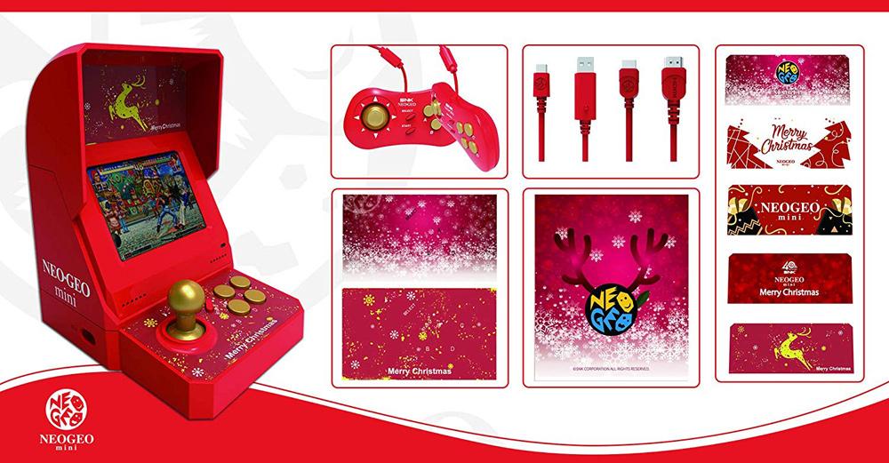 Neo Geo Mini (Christmas Edition) im Überblick