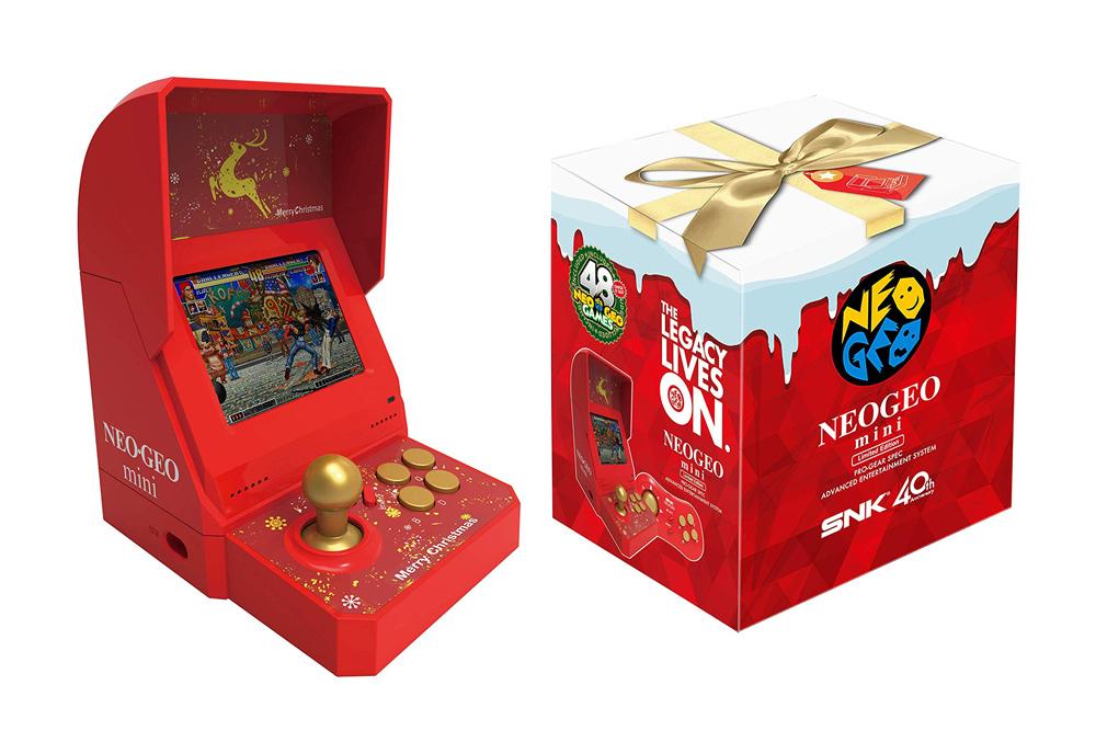 Limitiert und rot: Neo Geo Mini (Christmas Edition) erhältlich