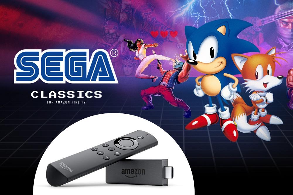 Sega Classics für Amazon Fire TV erhältlich