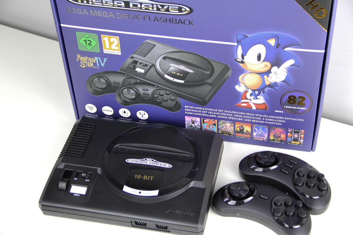 Retro-Gefühle: Sega Mega Drive Flashback HD (2019 Edition) – Testbericht