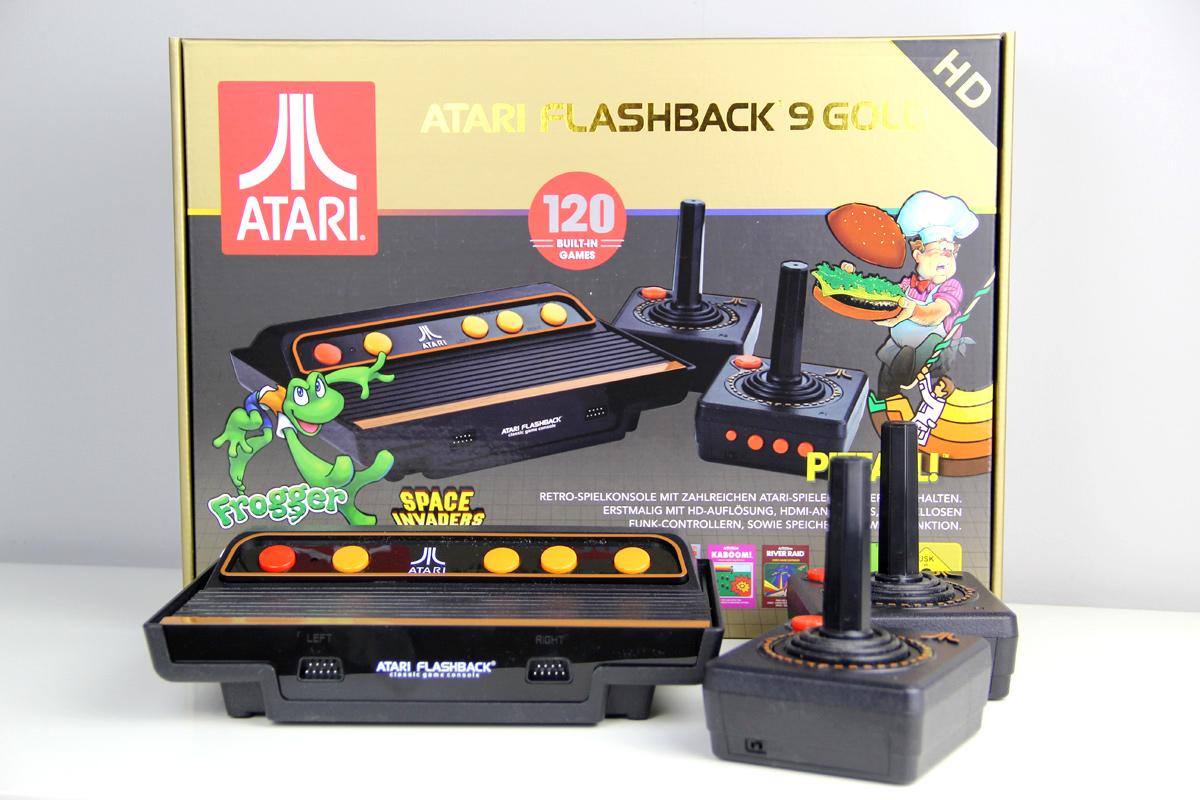 Willkommen in den frühen 80ern: Atari Flashback 9 Gold HD (2019) – Testbericht