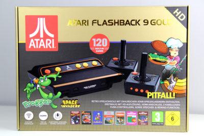 Testbericht Atari Flashback 9 Gold HD (2019) - Willkommen in den frühen 80ern! (Foto: Powerkonsolen.de)