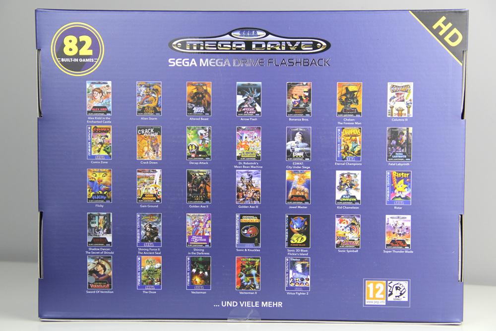 82 Spiele ... und Dank Modulschacht viele mehr auf dem Sega Mega Drive Flashback HD - 2019 Edition (Foto: Powerkonsolen.de)