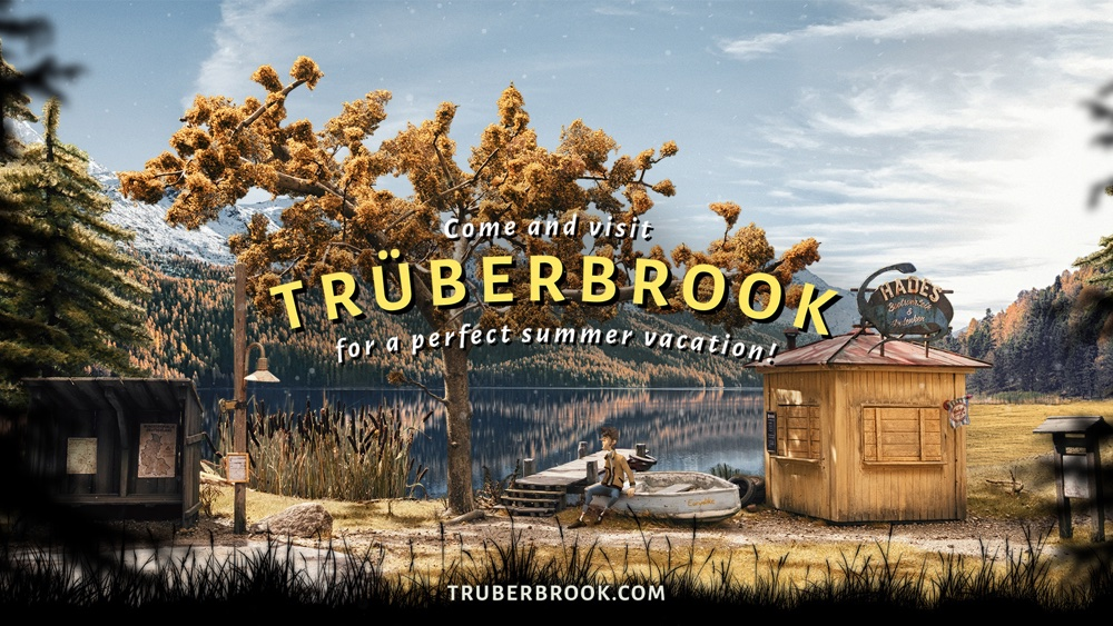Neues SciFi-Spiel Trüberbrook ab sofort zu kaufen