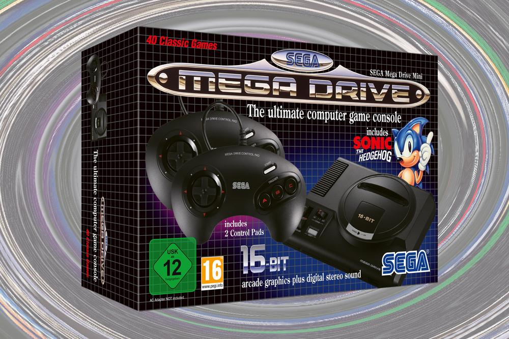 Sega Mega Drive Mini ab Oktober 2019 erhältlich