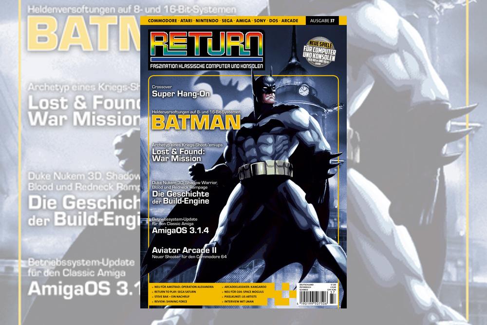 Retro-Magazin RETURN Ausgabe 37 (2019) jetzt erhältlich