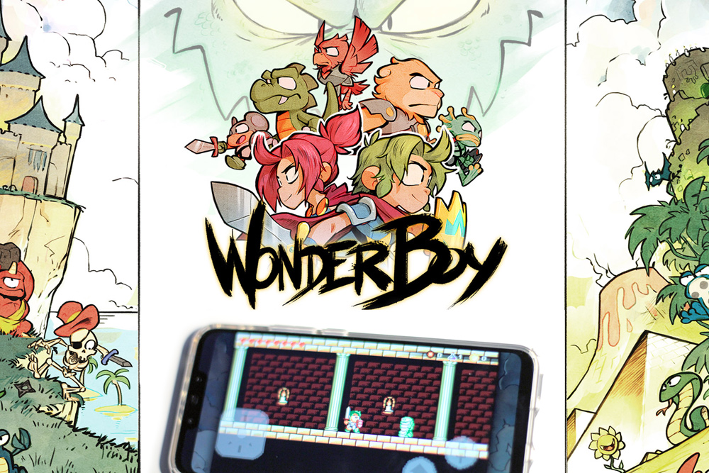 Angespielt: WONDER BOY: THE DRAGON'S TRAP (2019) für Android – Testbericht