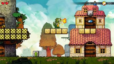 Wonder Boy The Dragons Trap Screenshot2