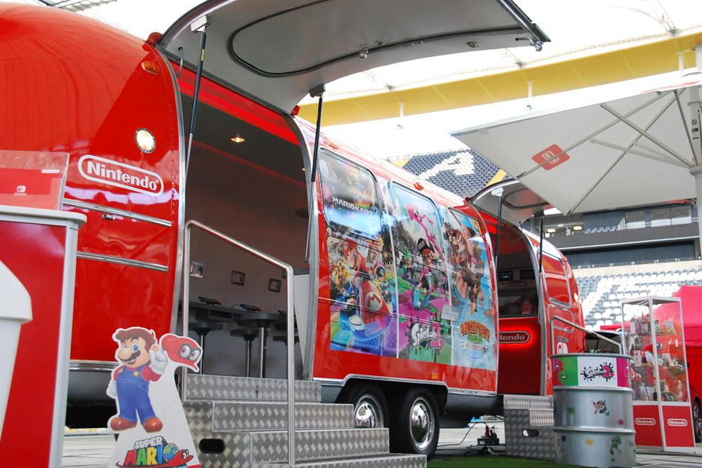 Nintendo Sommertour 2019 – VW Bulli on tour