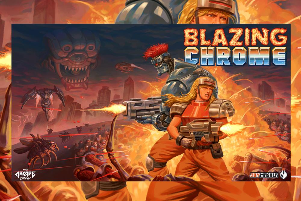 Angespielt: BLAZING CHROME für Xbox One – Testbericht