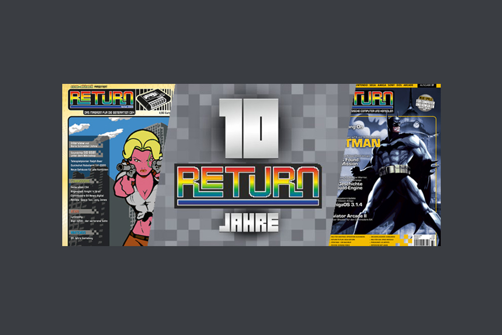 RETURN Magazin: 10 Jahre – Happy Birthday!