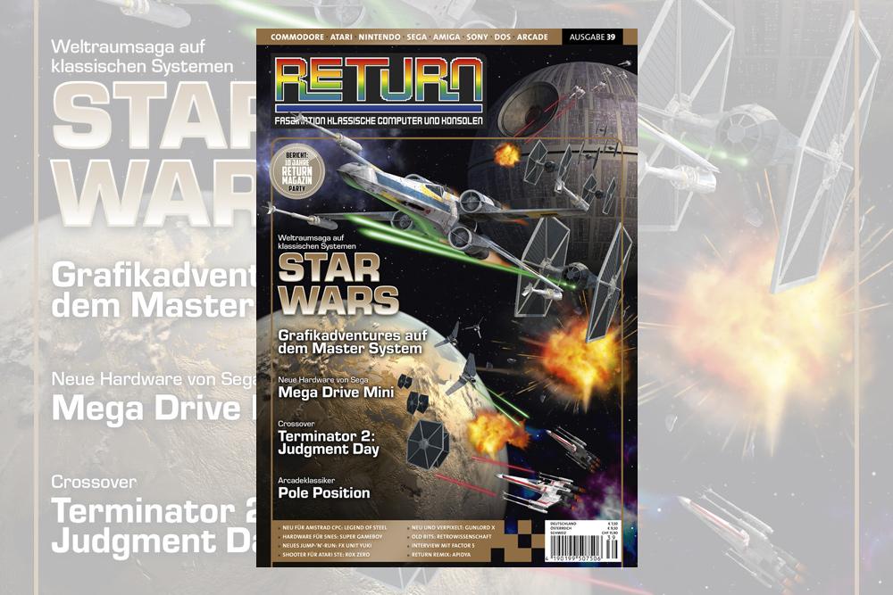 Retro-Magazin RETURN Ausgabe 39 (2019) jetzt erhältlich