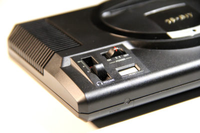 Detailgetreue Nachbildung beim Sega Mega Drive Mini