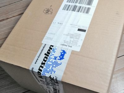 konsolenkost bestellung dhl paket zu