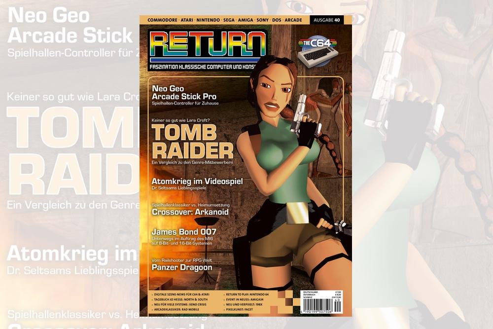 Retro-Magazin RETURN Ausgabe 40 (2020) jetzt erhältlich