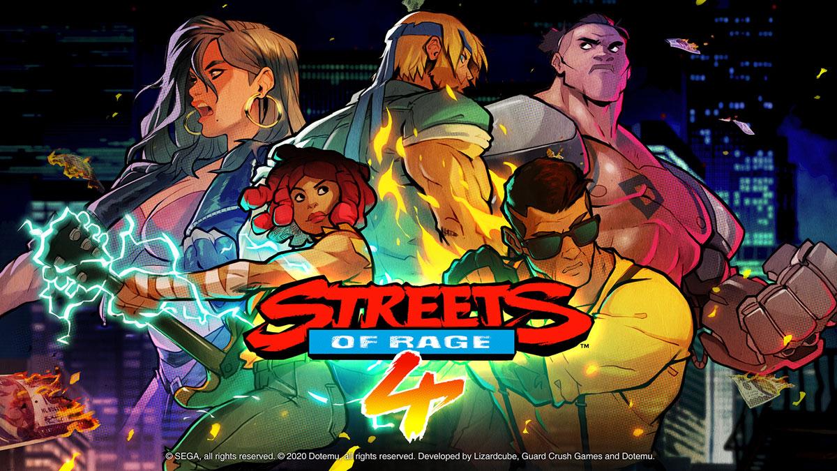 Streets of Rage 4 ab 30. April 2020 erhältlich