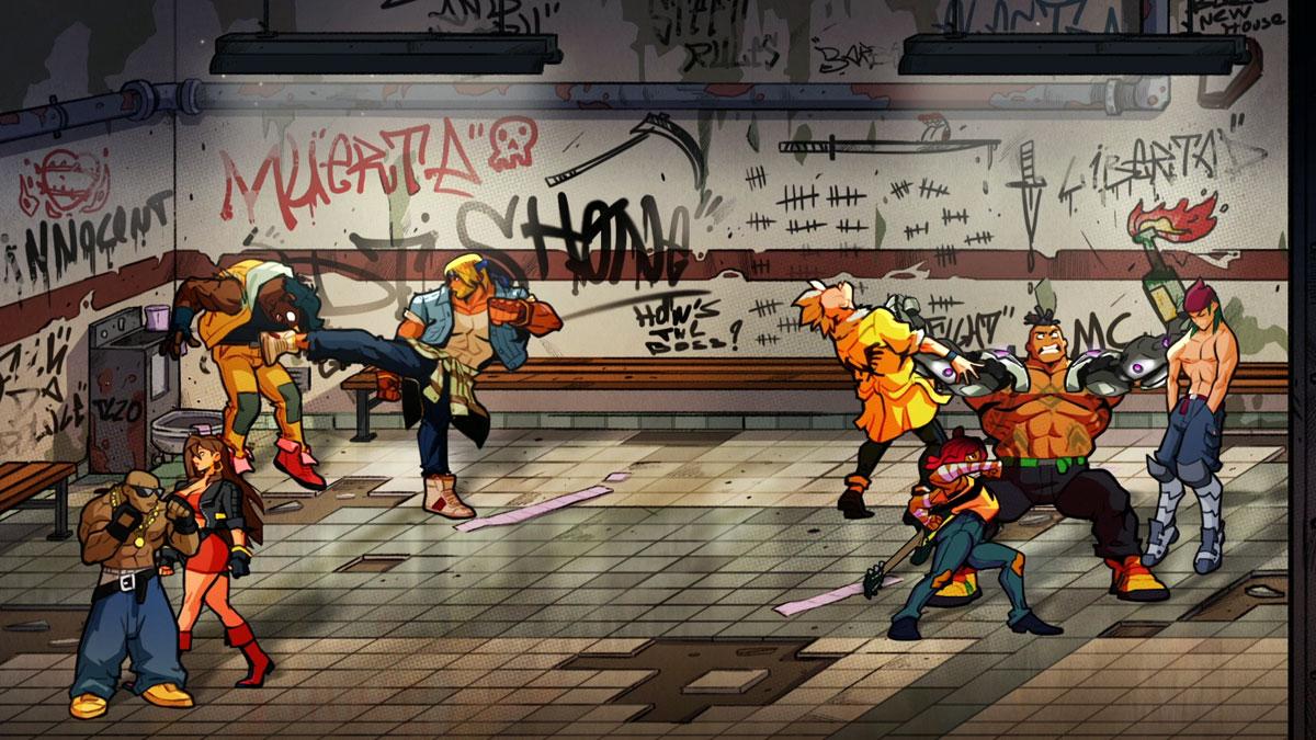 streets of rage 4 sega 2020 screenshot2