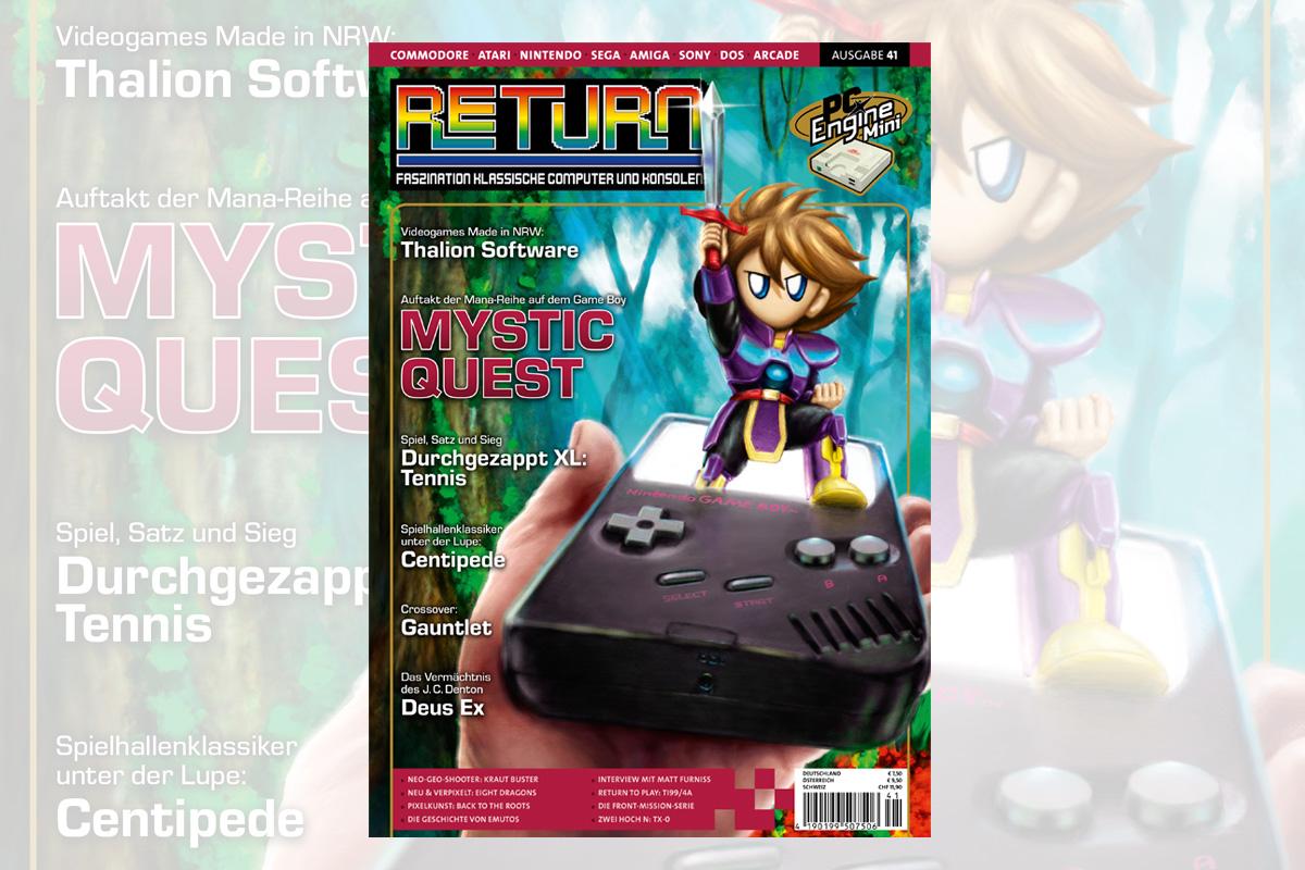 Retro-Magazin RETURN Ausgabe 41 (2020) jetzt erhältlich