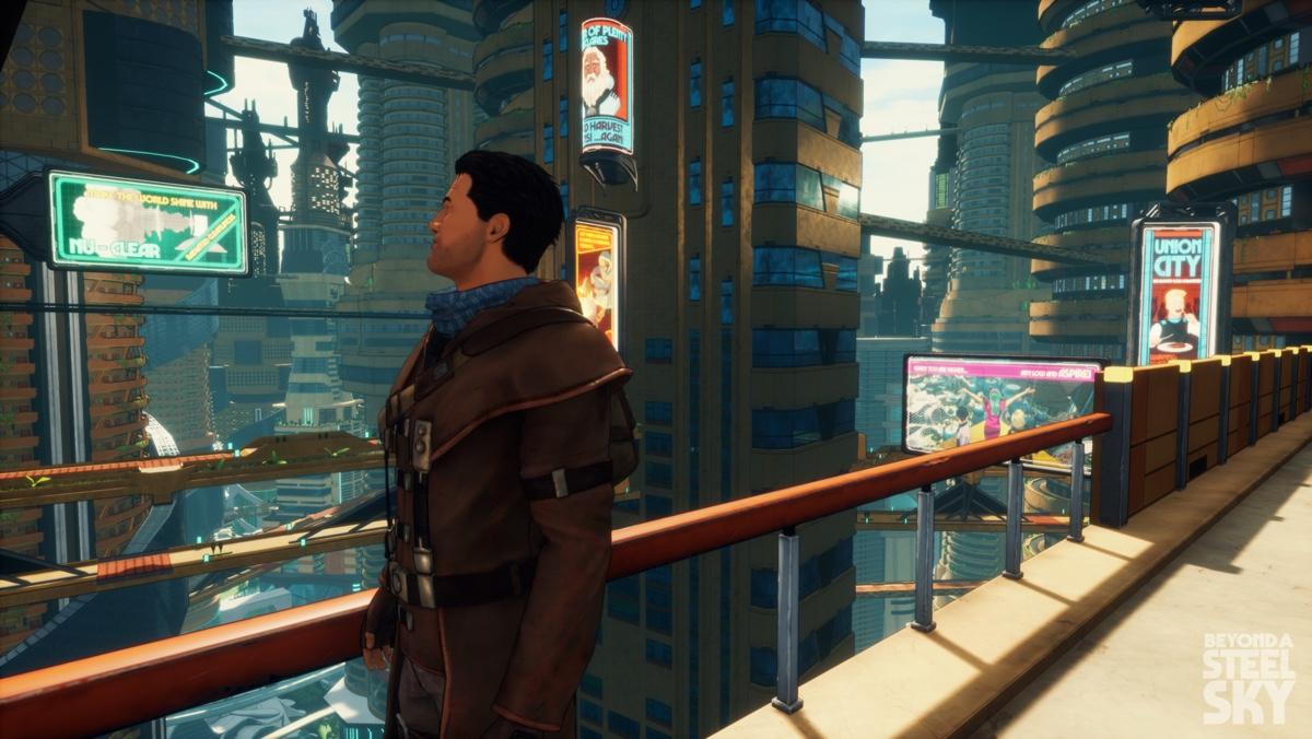 Beyond a Steel Sky ab sofort bei Apple Arcade und im Juli auf Steam