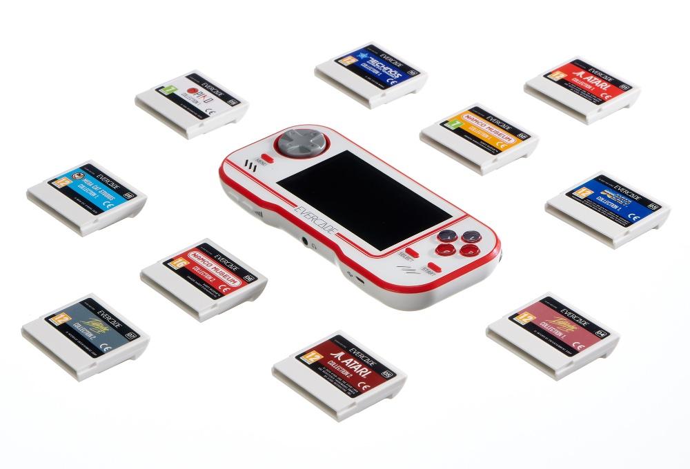 Retrogaming Handheld Evercade - neue Spieleboxen für 2020 geplant