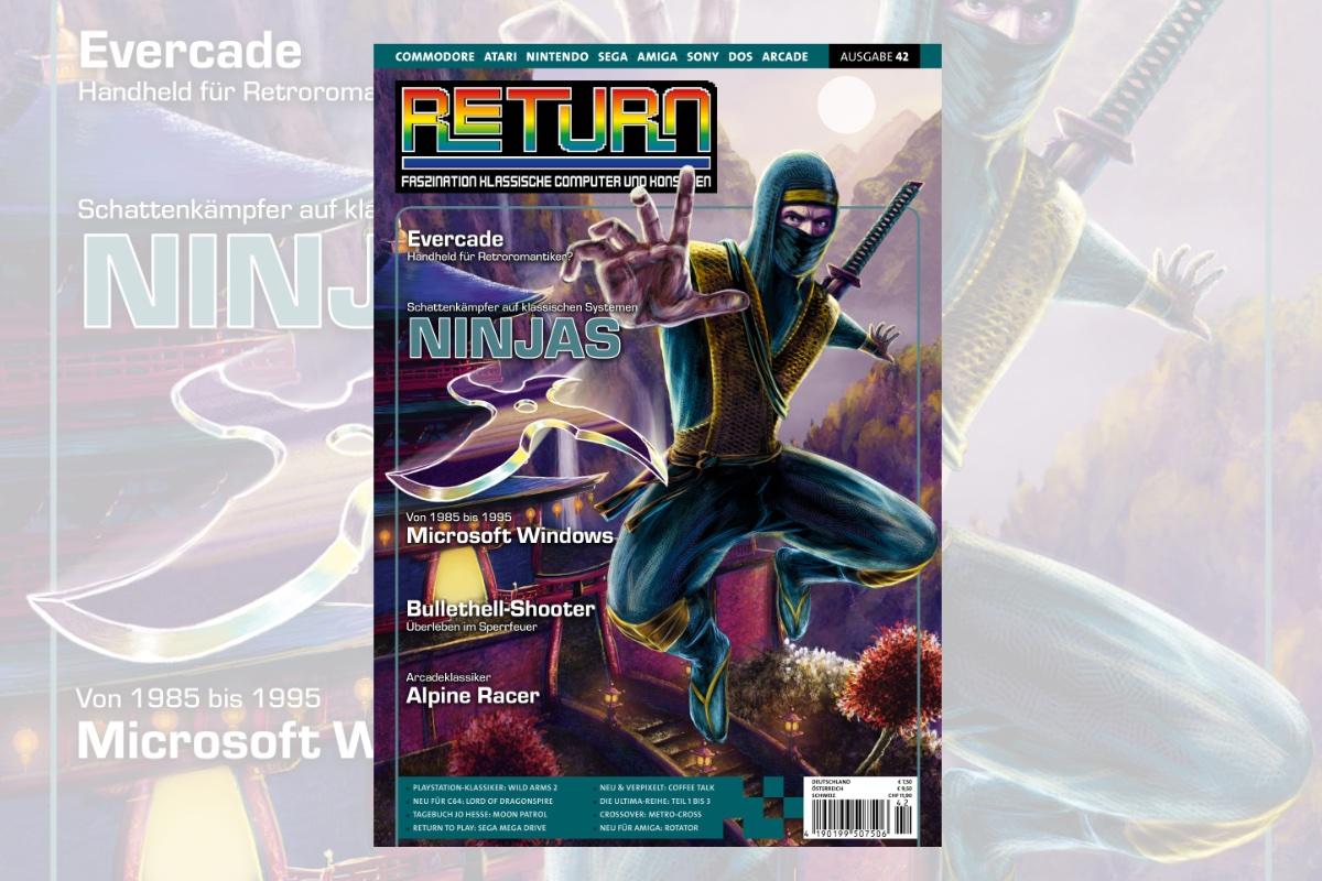 Retro-Magazin RETURN Ausgabe 42 (2020) jetzt erhältlich
