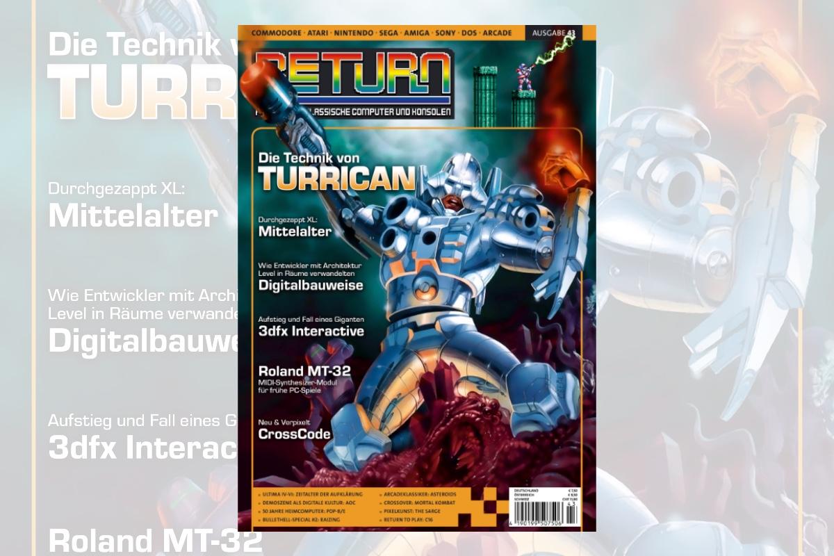 Retro-Magazin RETURN Ausgabe 43 (2020) jetzt erhältlich