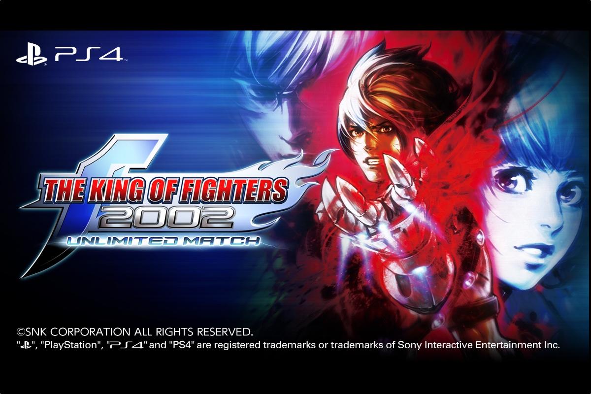The King of Fighters 2002 Unlimited Match (UM) für Playstation 4 digital verfügbar