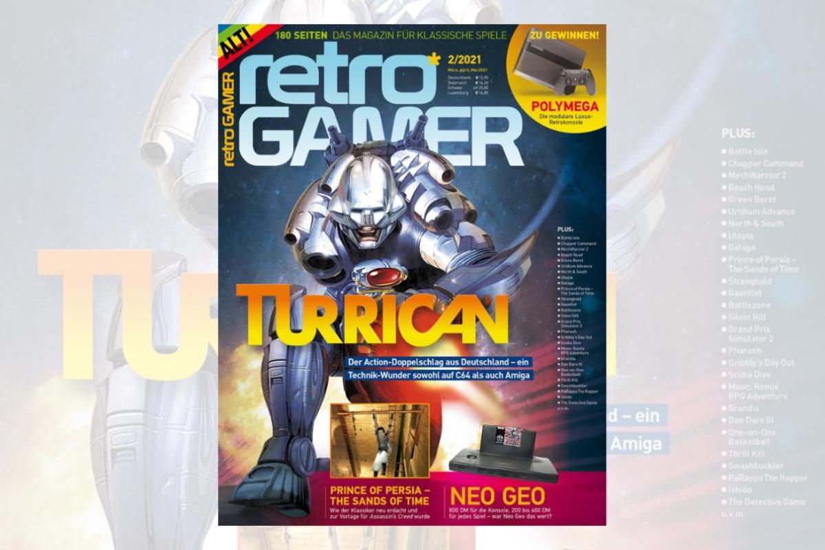 Retro-Magazin Retro Gamer Ausgabe 02/2021 jetzt erhältlich