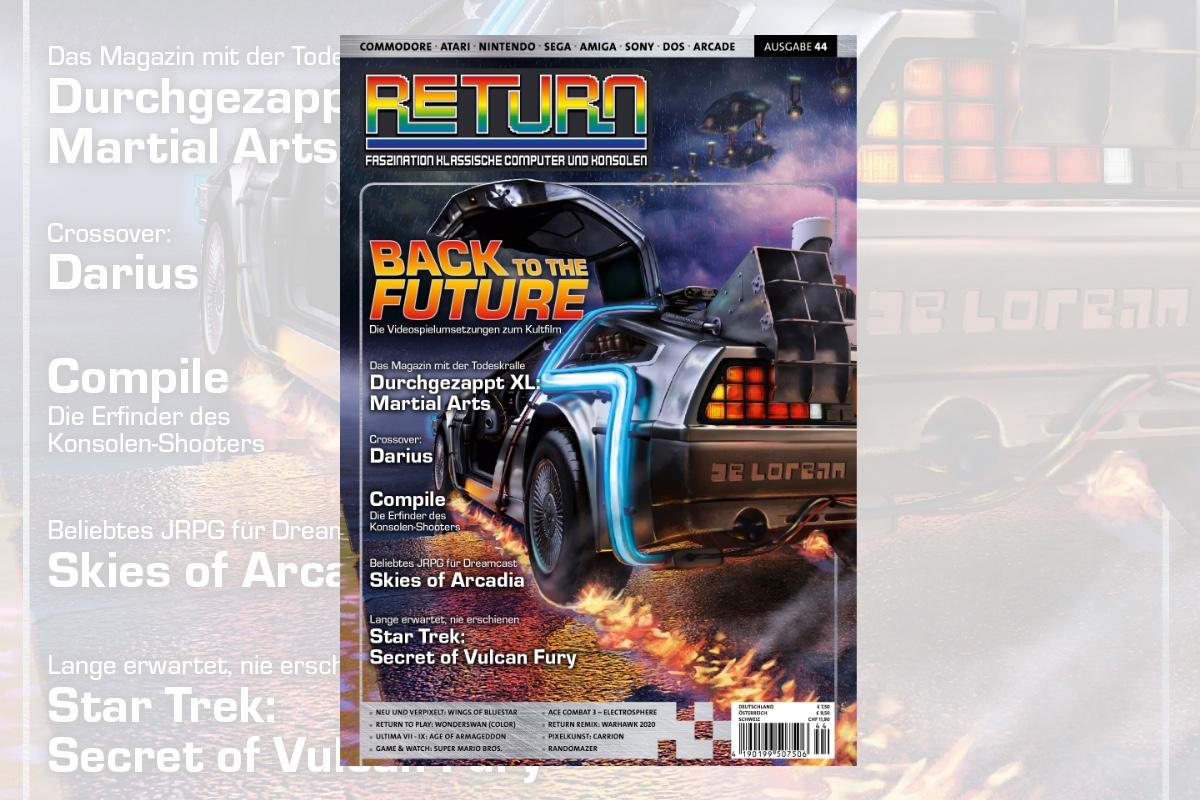 Retro-Magazin RETURN Ausgabe 44 (2021) jetzt erhältlich
