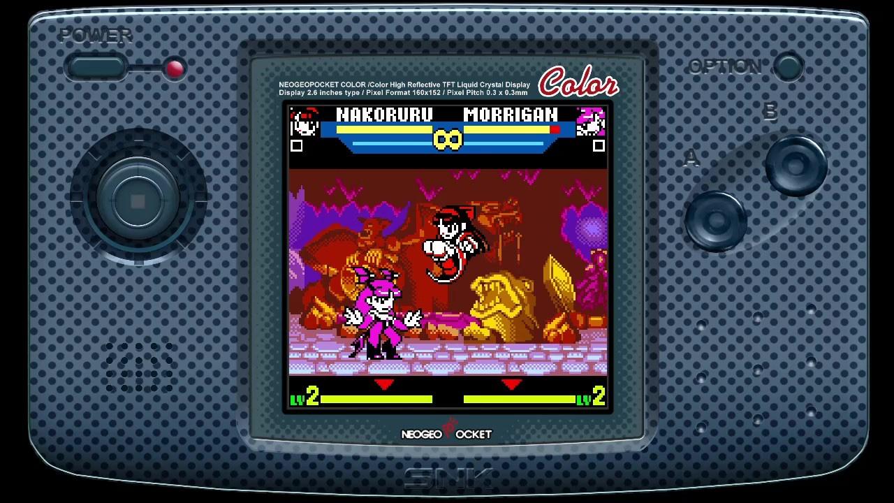 snk vs capcom screenshot1