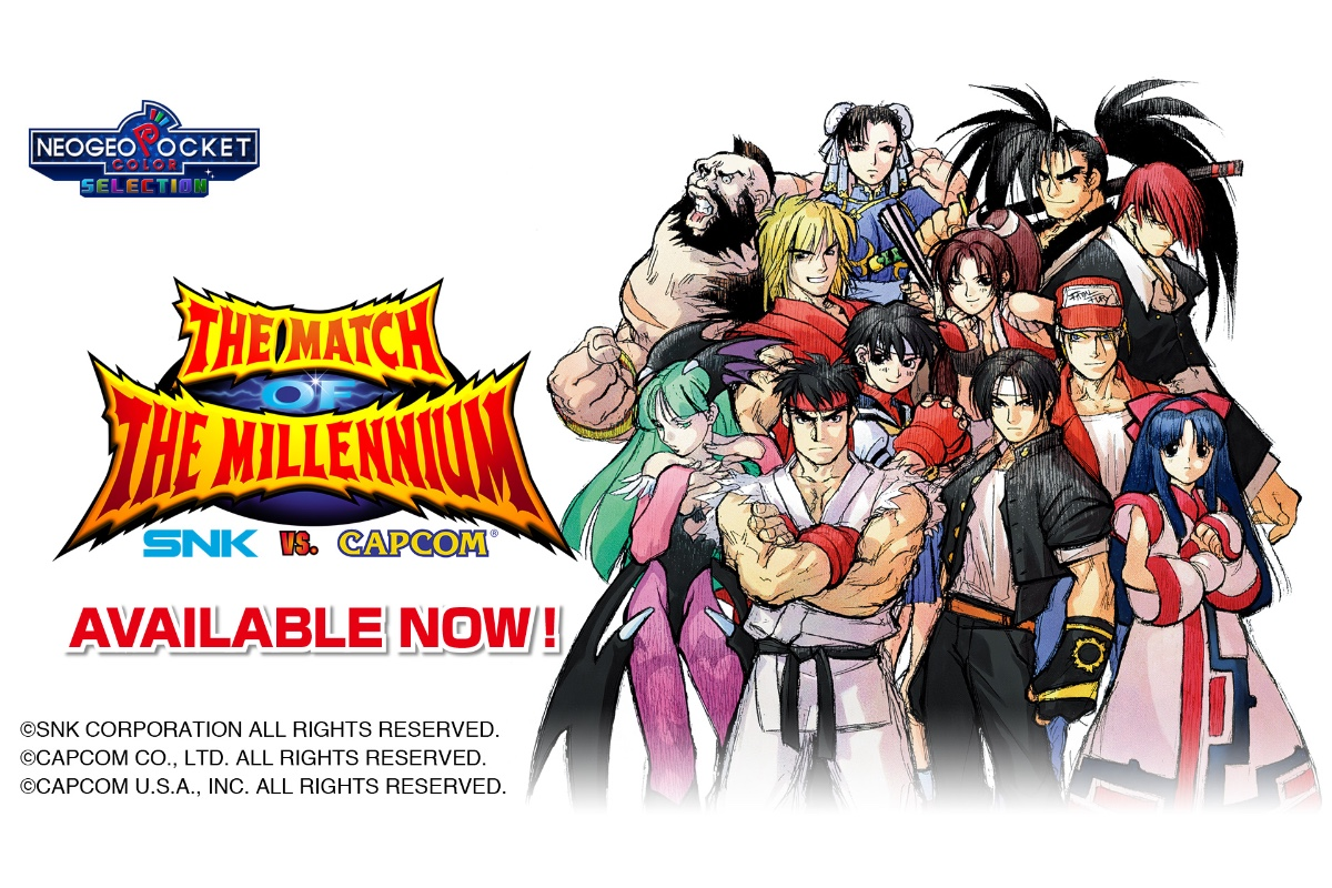 SNK vs. Capcom: The Match of the Millennium für Nintendo Switch als Download verfügbar