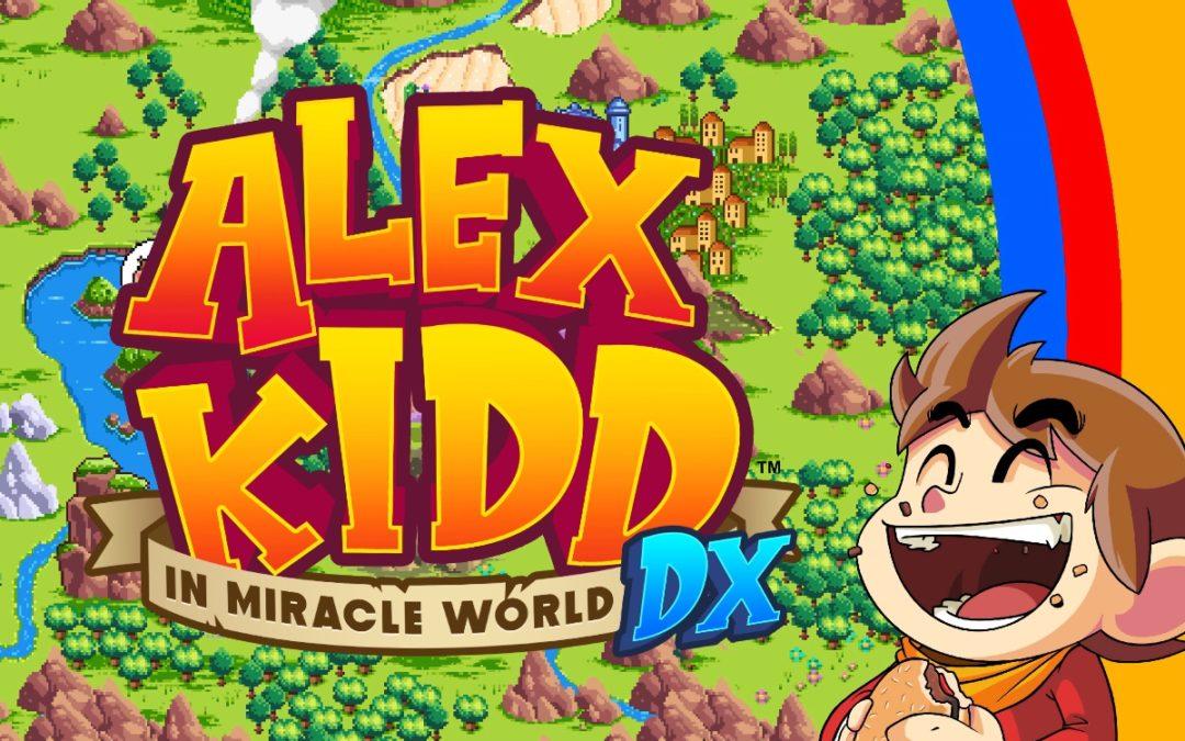 ALEX KIDD IN MIRACLE WORLD DX ab 22. Juni 2021 erhältlich