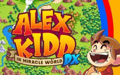 ALEX KIDD IN MIRACLE WORLD DX ab 24. Juni 2021 erhältlich