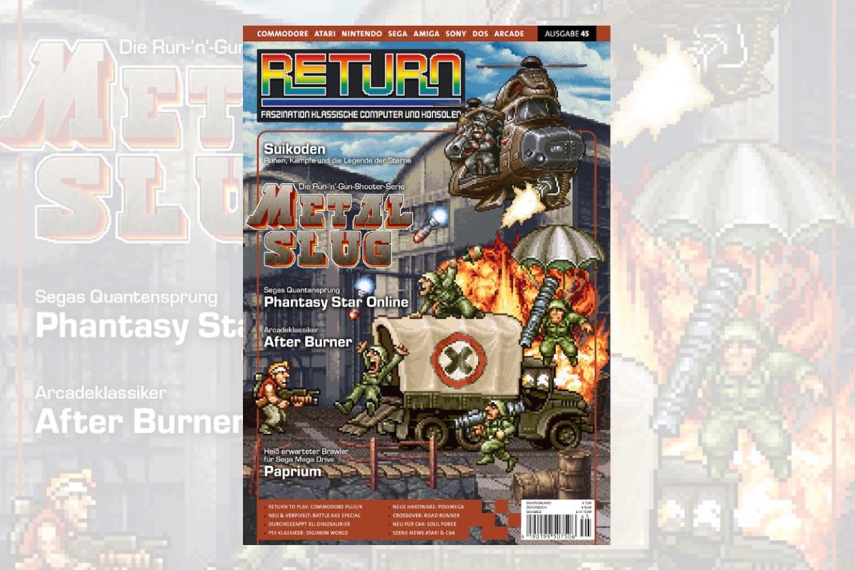 Retro-Magazin RETURN Ausgabe 45 (2021) jetzt erhältlich