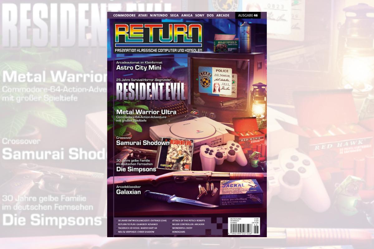 Retro-Magazin RETURN Ausgabe 46 (2021) jetzt erhältlich