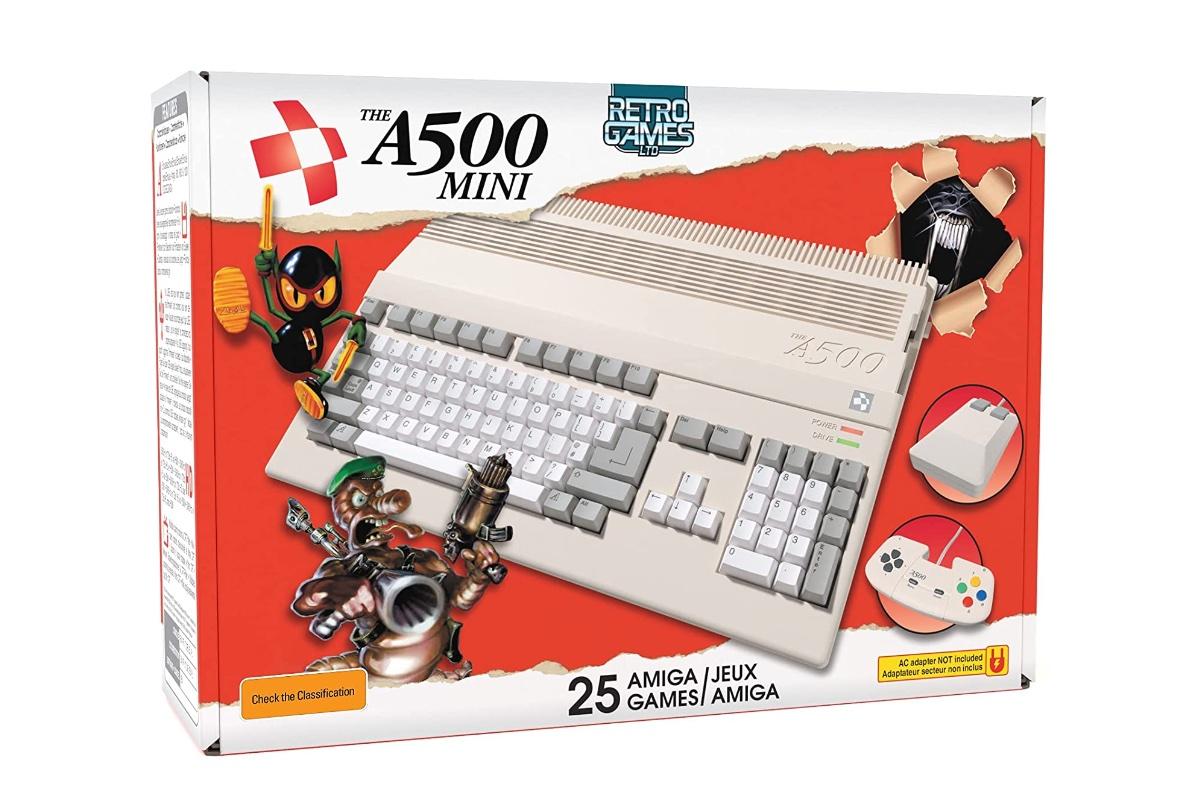 Neue Mini-Konsole in Aussicht: TheA500 Mini – ein Commodore Amiga 500 Nachbau