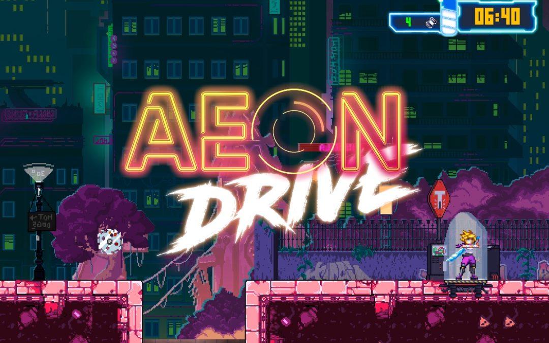 Angespielt: AEON DRIVE für Nintendo Switch – Spieletest/Review